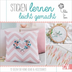 Sticken lernen leicht gemacht von Korch,  Katrin, Le Berre,  Hélène