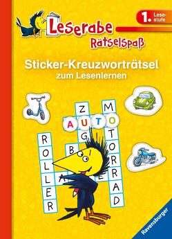 Sticker-Kreuzworträtsel zum Lesenlernen (1. Lesestufe) von Johannsen,  Anne, Lohr,  Stefan, Schulmeyer,  Heribert
