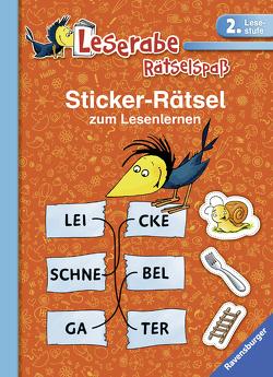 Sticker-Rätsel zum Lesenlernen (2. Lesestufe) von Lohr,  Stefan, Merk,  Lena, Schulmeyer,  Heribert