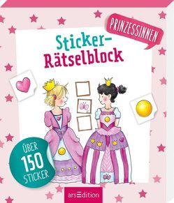 Sticker-Rätselblock Prinzessinnen von Peikert,  Marlit