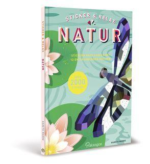 Sticker & Relax – Natur von Moore,  Gareth
