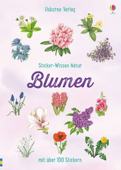 Sticker-Wissen Natur: Blumen von Miles,  Lisa