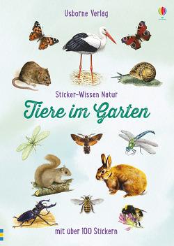 Sticker-Wissen Natur: Tiere im Garten von Boyer,  Trevor, Clarke,  Phillip, Finney,  Denise, Weare,  Phil