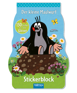 """Stickerblock """"Der kleine Maulwurf"""" von Miler,  Zdeněk"""