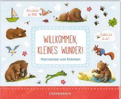 Stickerbuch – BabyBär – Willkommen, kleines Wunder! von Wilson,  Henrike