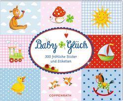 Stickerbuch – BabyGlück von Mußenbrock,  Anne
