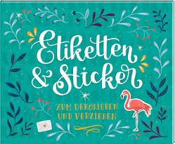 Stickerbuch – Etiketten & Sticker von Paehl,  Nora