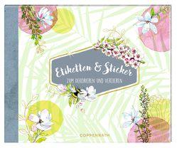Stickerbuch – Etiketten & Sticker von Lenecke,  Till