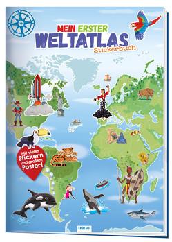 """Stickerbuch """"Mein erster Weltatlas"""""""