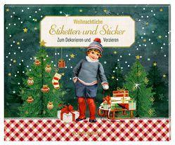 Stickerbuch – Weihnachtliche Etiketten und Sticker