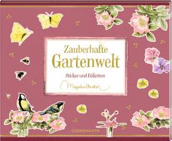 Stickerbuch – Zauberhafte Gartenwelt von Bastin,  Marjolein