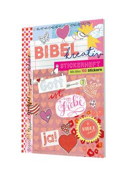 Stickerheft Bibel kreativ – Gott ist Liebe