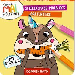 Stickerspaß-Malblock von Tina Schulte