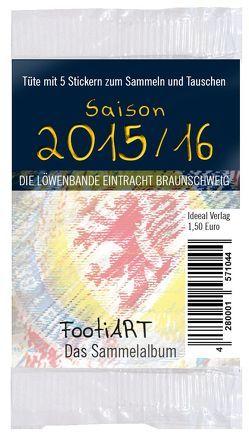 Stickertüte 2015/16 Eintracht Braunschweig