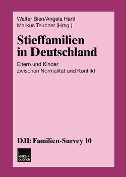 Stieffamilien in Deutschland von Bien,  Walter, Hartl,  Angela, Teubner,  Markus