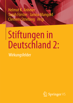 Stiftungen in Deutschland 2: von Anheier,  Helmut K., Förster,  Sarah, Mangold,  Janina, Striebing,  Clemens