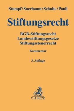 Stiftungsrecht von Pauli,  Rudolf, Schulte,  Martin, Stumpf,  Christoph, Suerbaum,  Joachim