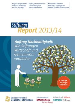 StiftungsReport 2013/14 von Bischoff,  Antje, Bühner,  Sebastian, Hagedorn,  Sandra, Rummel,  Miriam