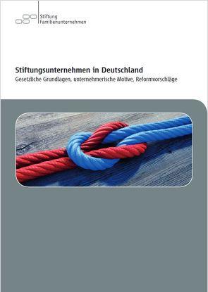Stiftungsunternehmen in Deutschland