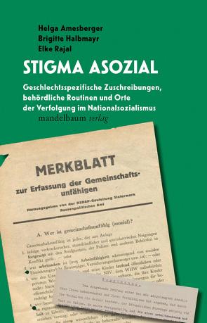 Stigma asozial von Amesberger,  Helga, Halbmayr,  Brigitte