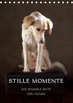 Stille Momente – Die sensible Seite der Hunde (Tischkalender 2019 DIN A5 hoch) von Behr,  Jana