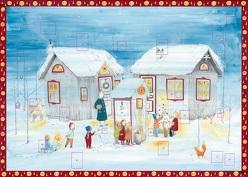 Stille Nacht, fröhliche Nacht Adventskalender von Völk,  Julie