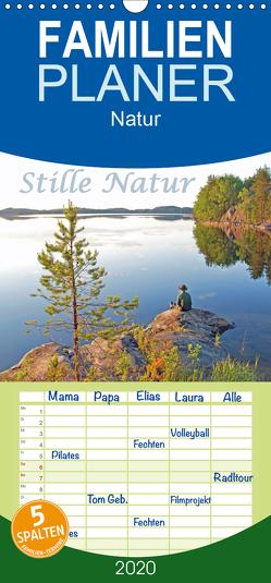Stille Natur – Familienplaner hoch (Wandkalender 2020 , 21 cm x 45 cm, hoch) von Berger,  Anita