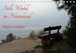 Stille Winkel im Hinterland – Mein Usedom (Tischkalender 2021 DIN A5 quer) von Gerstner,  Wolfgang