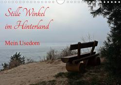 Stille Winkel im Hinterland – Mein Usedom (Wandkalender 2021 DIN A4 quer) von Gerstner,  Wolfgang