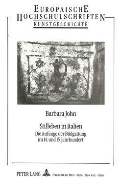 Stilleben in Italien von John,  Barbara