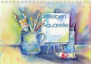 Stillleben Aquarelle (Tischkalender 2018 DIN A5 quer) von Krause,  Jitka