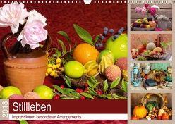 Stillleben. Impressionen besonderer Arrangements (Wandkalender 2018 DIN A3 quer) von Lehmann (Hrsg.),  Steffani