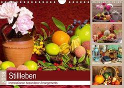 Stillleben. Impressionen besonderer Arrangements (Wandkalender 2018 DIN A4 quer) von Lehmann (Hrsg.),  Steffani
