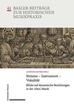 Stimme – Instrument – Vokalität von Papiro,  Martina