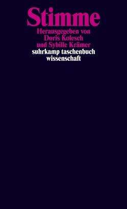 Stimme von Kolesch,  Doris, Krämer,  Sybille