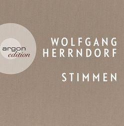 Stimmen von Herrndorf,  Wolfgang