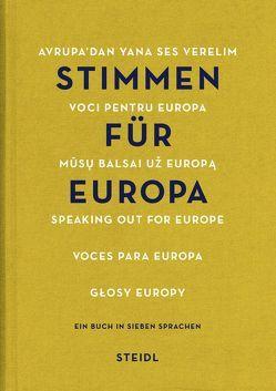 Stimmen für Europa von Kehrbaum,  Tom, Negt,  Oskar, Ostolski,  Adam, Zeuner,  Christine