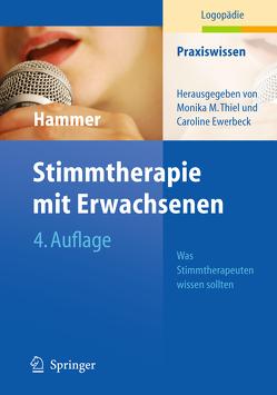 Stimmtherapie mit Erwachsenen von Hammer,  Sabine S.