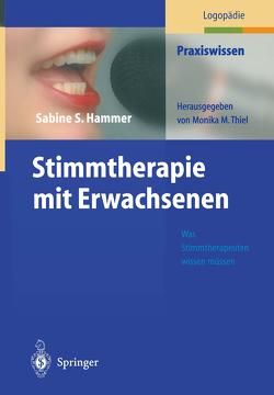 Stimmtherapie mit Erwachsenen von Hammer,  Sabine S., Heptner,  M.