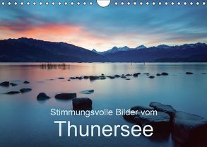 Stimmungsvolle Bilder vom ThunerseeCH-Version (Wandkalender 2018 DIN A4 quer) von Trachsel,  Mario