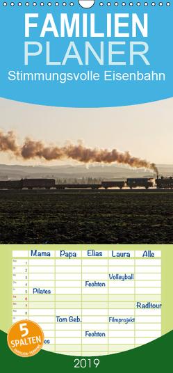Stimmungsvolle Eisenbahn – Bahnimpressionen aus Österreich – Familienplaner hoch (Wandkalender 2019 , 21 cm x 45 cm, hoch) von rail66