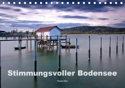 Stimmungsvoller Bodensee (Tischkalender 2021 DIN A5 quer) von Klar,  Diana