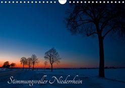 Stimmungsvoller Niederrhein (Wandkalender 2019 DIN A4 quer) von Spona,  Helma