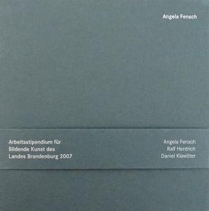 Stipendiaten für Bildende Kunst des Landes Brandenburg 2007 von Böthig,  Peter, Colden,  Martin, Hauer,  Armin, Kraft,  Perdita von, Sperling,  Jörg