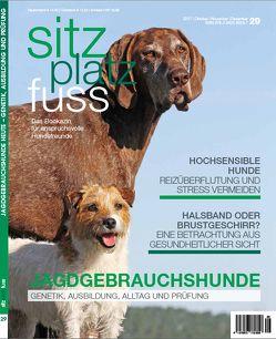 SitzPlatzFuss, Ausgabe 29 von Cadmos Verlag