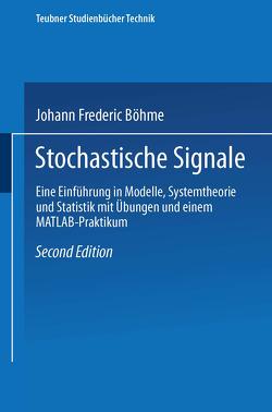 Stochastische Signale von Böhme,  Johann Frederic