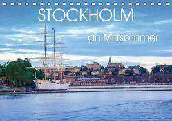 Stockholm an Mittsommer (Tischkalender 2019 DIN A5 quer) von Gelner,  Dennis