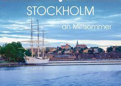 Stockholm an Mittsommer (Wandkalender 2019 DIN A2 quer) von Gelner,  Dennis