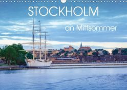 Stockholm an Mittsommer (Wandkalender 2019 DIN A3 quer) von Gelner,  Dennis