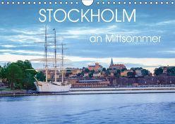 Stockholm an Mittsommer (Wandkalender 2019 DIN A4 quer) von Gelner,  Dennis